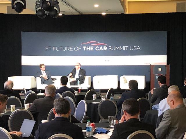 Marx Layne at the FT Car Summit