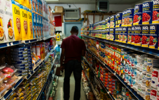 Under Governor Whitmer's current stay-at-home order, Michigan residents are dining in more frequently. This has created added demand on grocery stores, whose shelves have become emptier.