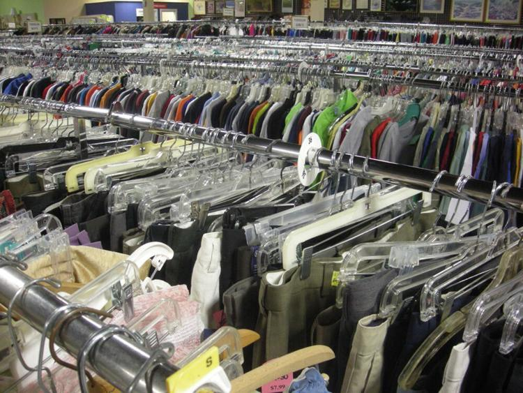 Clothing is always in demand at thrift stores around the area. If you want to donate, make sure your donations are in good condition and seasonal