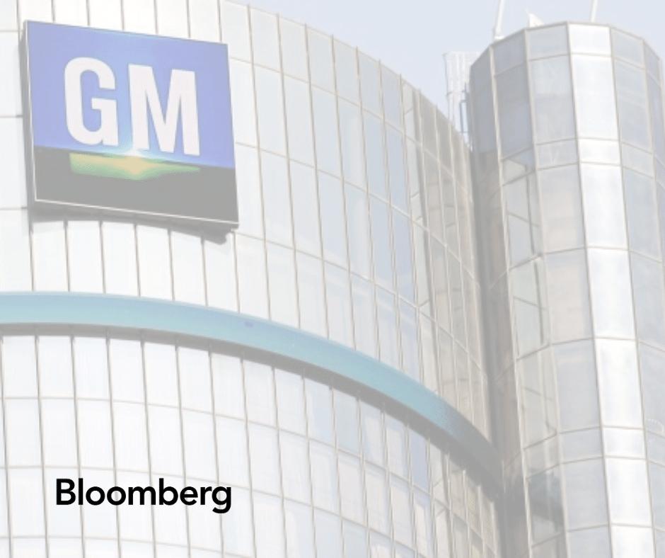 Alex Calderone speaks with Bloomberg regarding GM racketeering suit against FCA