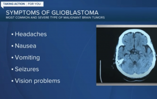 Dr. Jay Jagannathan: Watch out for warning signs of Glioblastoma