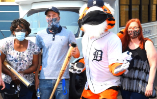 Detroit Tigers recognize staff at Grace Centers of Hope in Pontiac - Featured