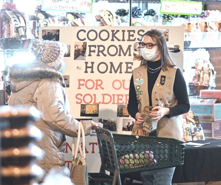Nino Salvaggio: Thin Mints, tears and troops